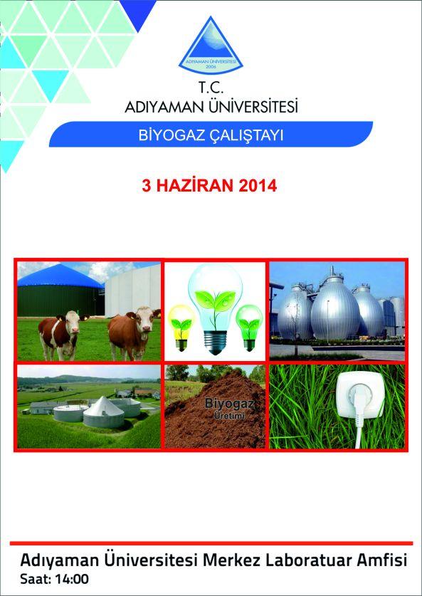 Biyogaz Çalıştay Afiş